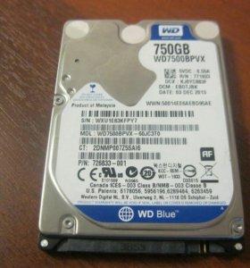жесткий диск на 750гб