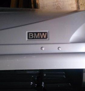 Автобокс на bmw x3 и поперечены