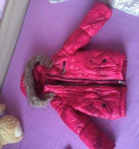 Куртка и плащ на девочку от 3-5 лет