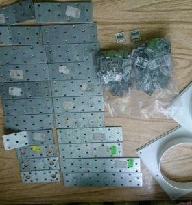 Металлические пластины соединительные, крепежи