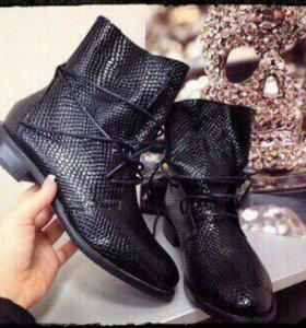 Весенние ботинки новые