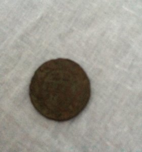 Монета 1750год