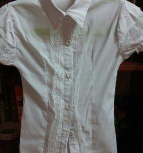 Рубашка на девочку. 7 лет