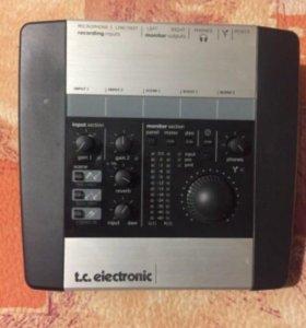 Аудио интерфейс TC electronic konnekt 6
