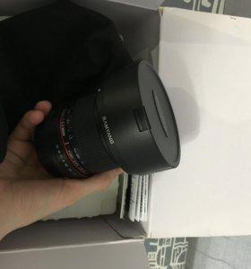 Объектив fisheye Samyang 3.5/8mm