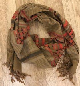 Тёплые зимние шарфы