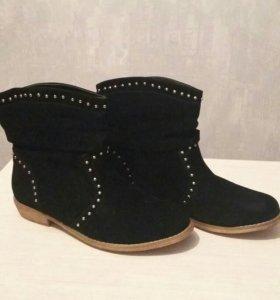 Ботинки  (новые)