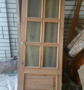 Двери деревянные 2шт.