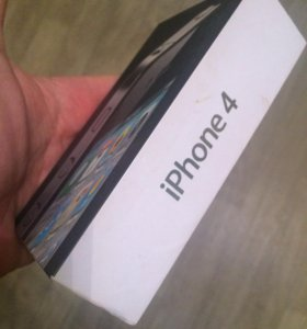 Коробка от айфона 4