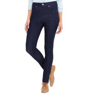 Темно-синие джеггинсы джинсы леггинсы