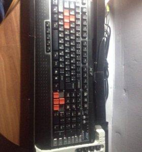 Игровая клавиатура A4tech X7 g800mu