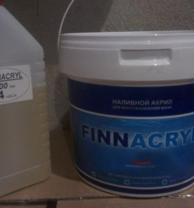 Finnacril наливной акрил