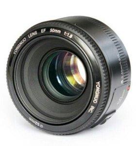 Объектив AF 50mm F1.8 для Canon EOS