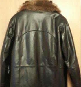 Кожаная куртка мужская.