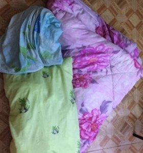 2х спал Одеяло ,подушка, пододеяльник