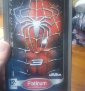 Spider man 3 на PSP