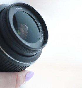 Объектив Nikon 18-55 mm f/3.5-5.6G AF-S VR DX