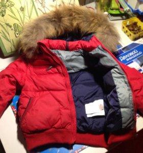 Тёплая куртка  Ferrary 4-5 лет