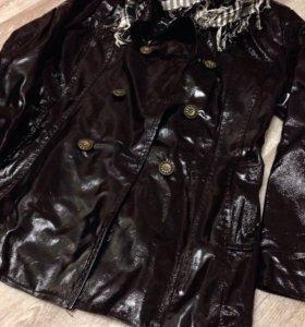 Куртка френч кожа