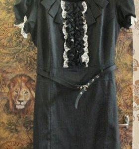 Офисное платье-футляр (новое) р. 44-46
