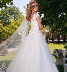 """Свадебное платье """"Evangelina """""""