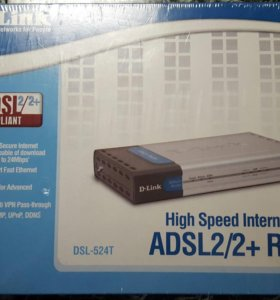ADSL2/2+РОУТЕР