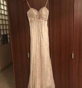 Платье вечернее в пол, новое