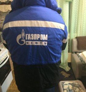 Зимняя спецодежда Газпром