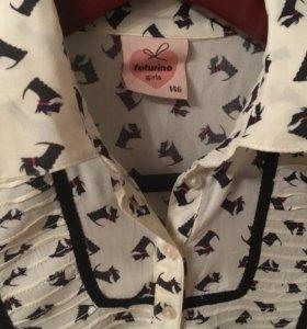 Блузка для девочки 10-12 лет