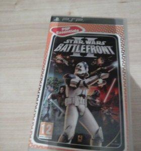 Игра на psp Star Wars Battle front 2