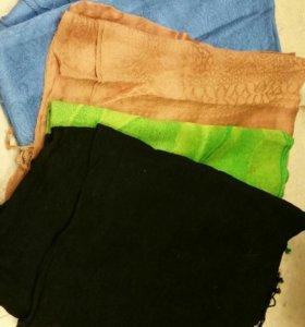 Платки и шарфы в ассортименте