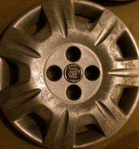 Колпаки для колес fiat albea r14 оригинальные 2 шт