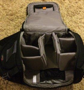 Фото рюкзак LowePro + комплект