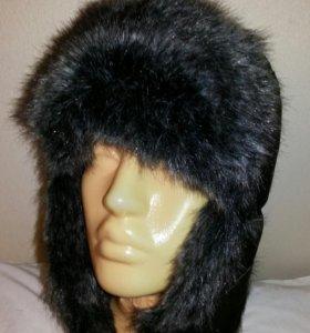 Мужская шапка ушанка РАЗМЕР 58
