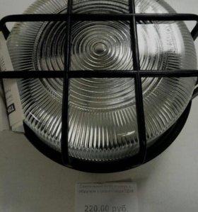 Светильник НПП с обручимся решеткой IP54