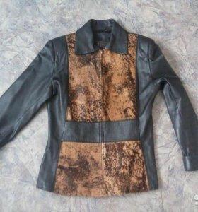 куртка кожаная р.44-46