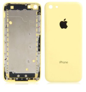 Корпус крышка с кнопками на айфон 5c, оригинал