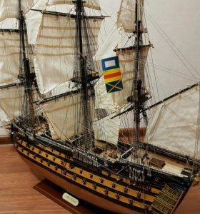 Модель корабля  ,,Виктори''