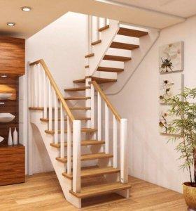 Лестница для дачи и дома #34