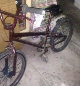 Велосипед BMX в отличном состоянии