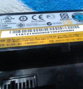 Аккумулятор б/у Lenovo L09S6Y02
