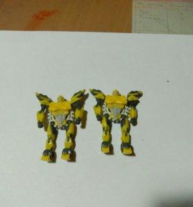 Игрушки Трансформеры из Киндера .