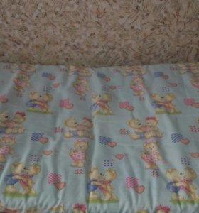 Матрасик в детскую кроватку