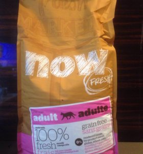 Корм для кошек Now fresh grain free, 3,63 кг.