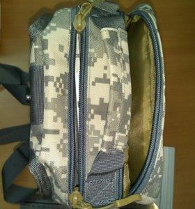 Однолямочный рюкзак, планшет