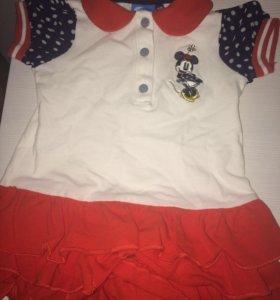 Платье 0-3 месяцев