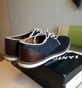 Туфли мужские. Замшевые