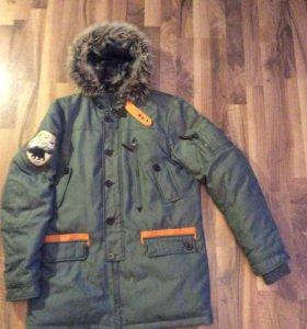 "Куртка зимняя ""Pull&Bear"""