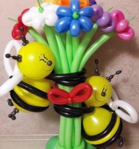 Фигуры из шаров,воздушные шары