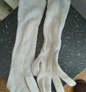 Высокие женские перчатки ТВОЁ